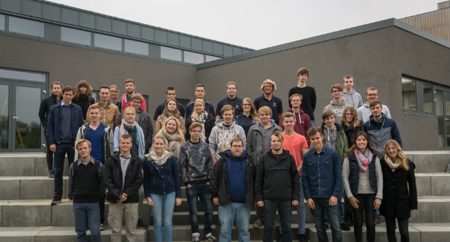 PROSPECTIVE ENGINEERING STUDENTS FROM NORTHERN GERMANY VISIT AALBORG UNIVERSITY ESBJERG