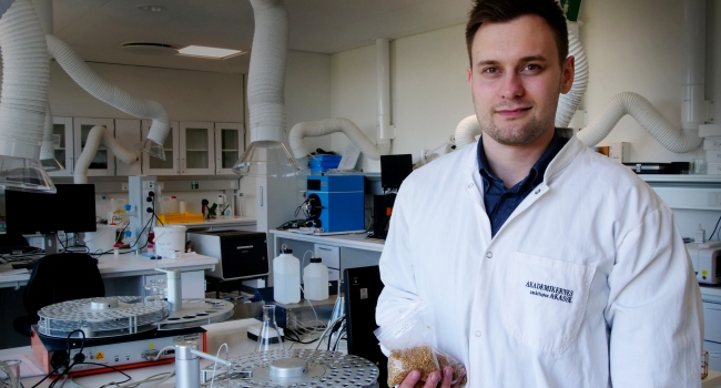 AAU ESBJERG RESEARCH ON GRAIN SORTING ENSURES BETTER FOOD AND LESS FOOD WASTE