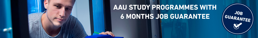 AAU Esbjergs' study programmes with a six month job guarantee
